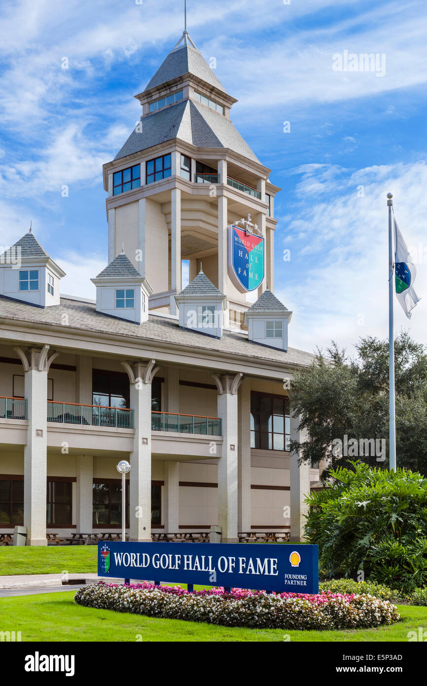 The World Golf Hall of Fame, near St Augustine, Florida, USA - Stock Image