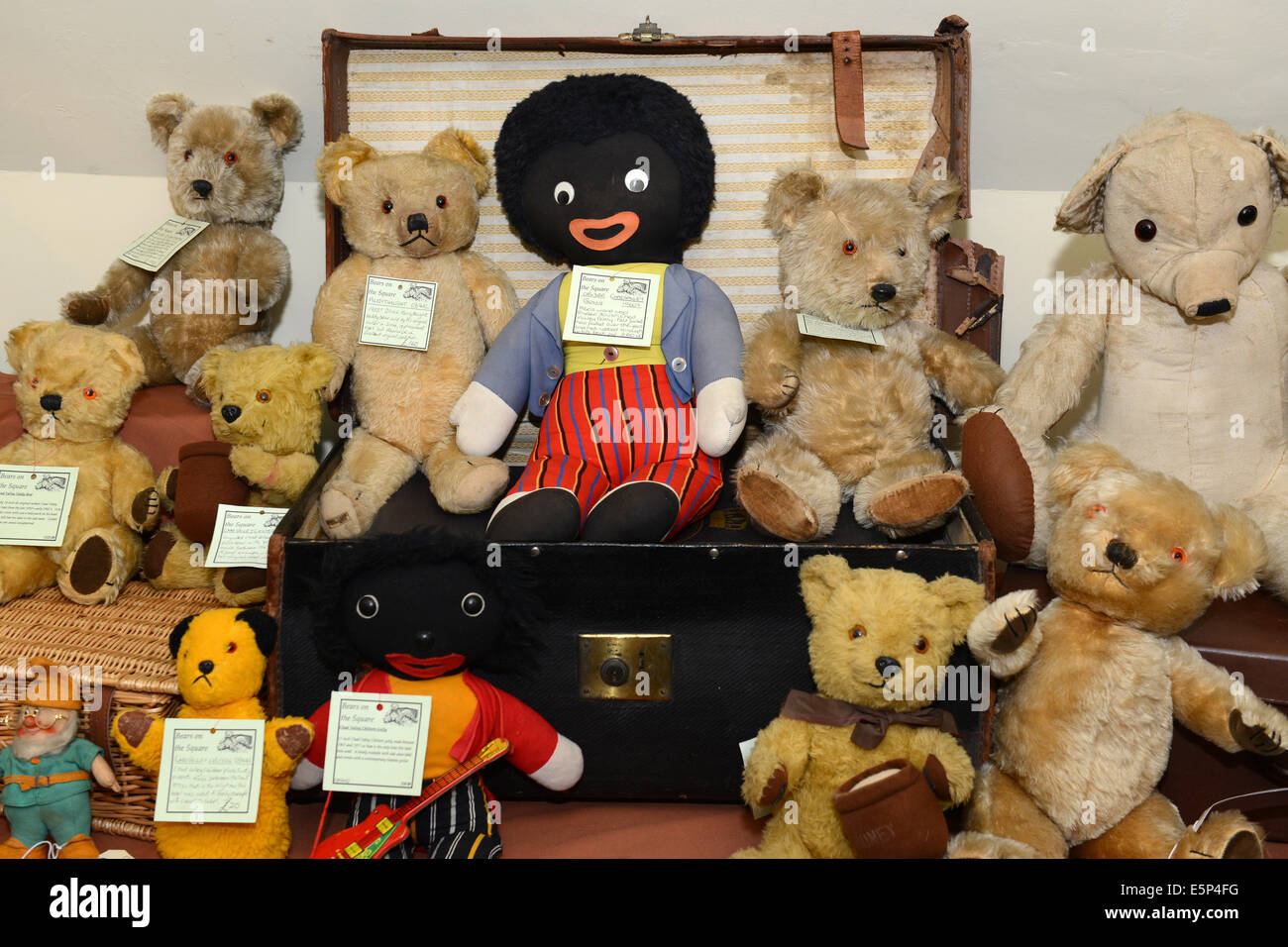 Radient Large Antique Florence Teddy Bear Antique