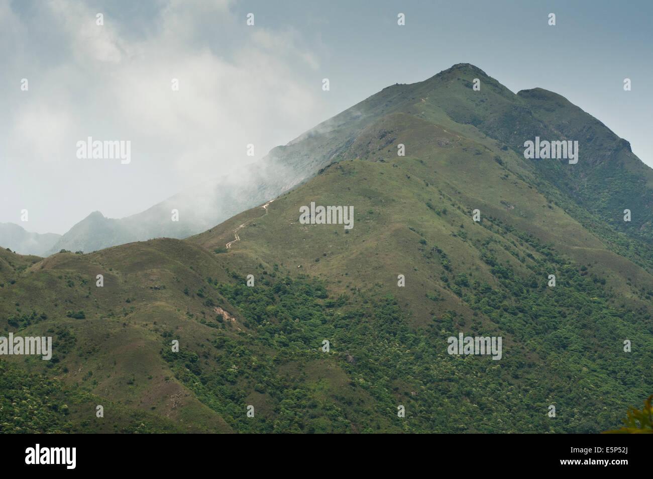 Lantau Peak (Fung Wong Shanon) Lantau Island Hong Kong China - Stock Image