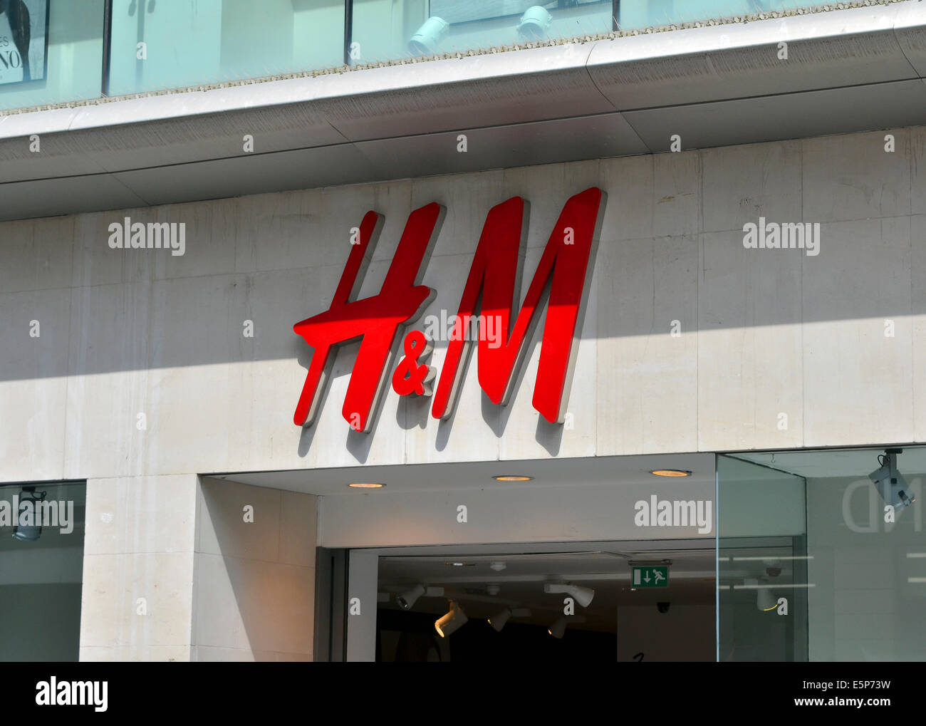 H&M store - Stock Image