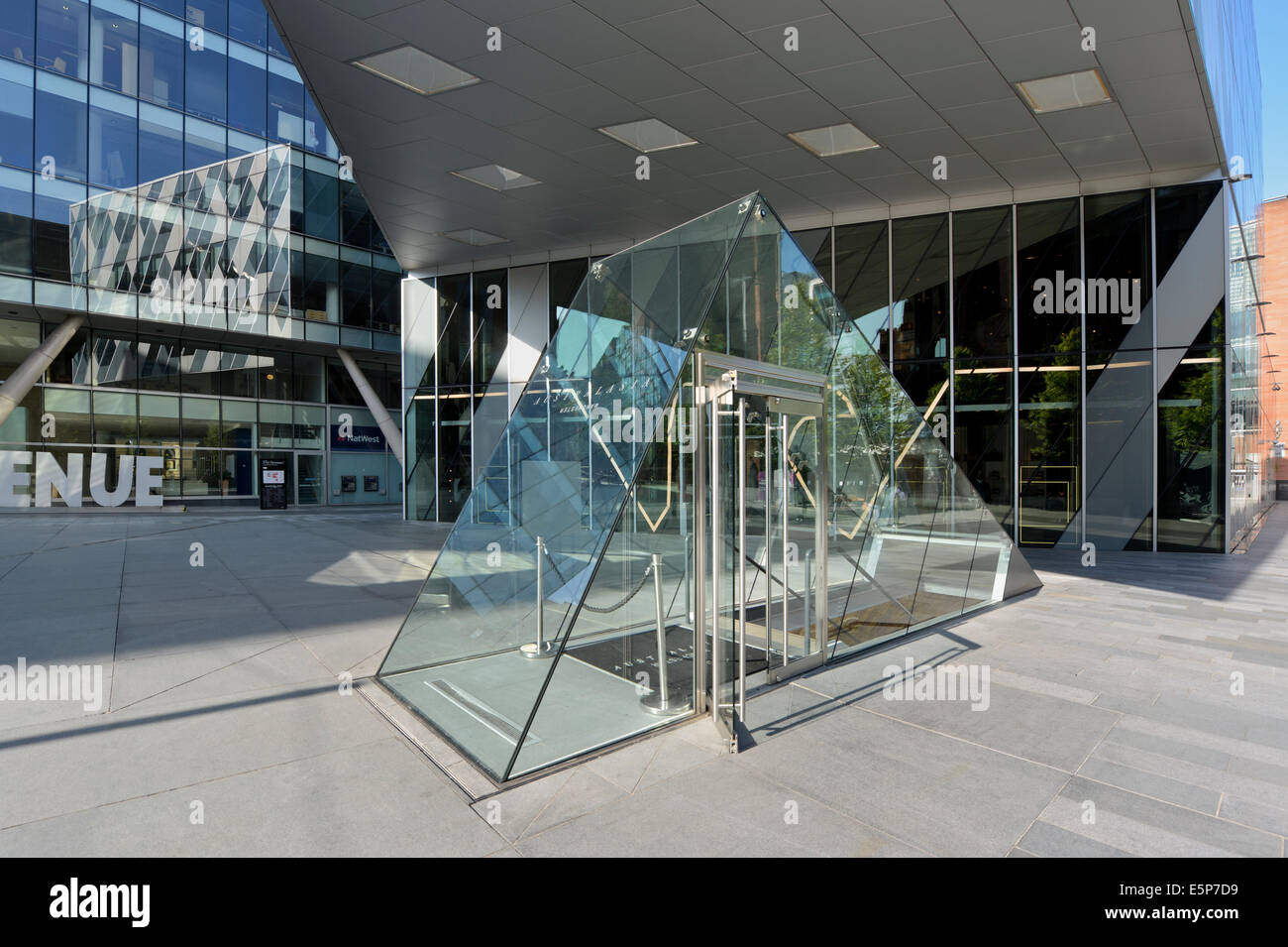 Australasia bar and restaurant located on 1 The Avenue, Spinningfields near Deansgate in Manchester, UK. - Stock Image