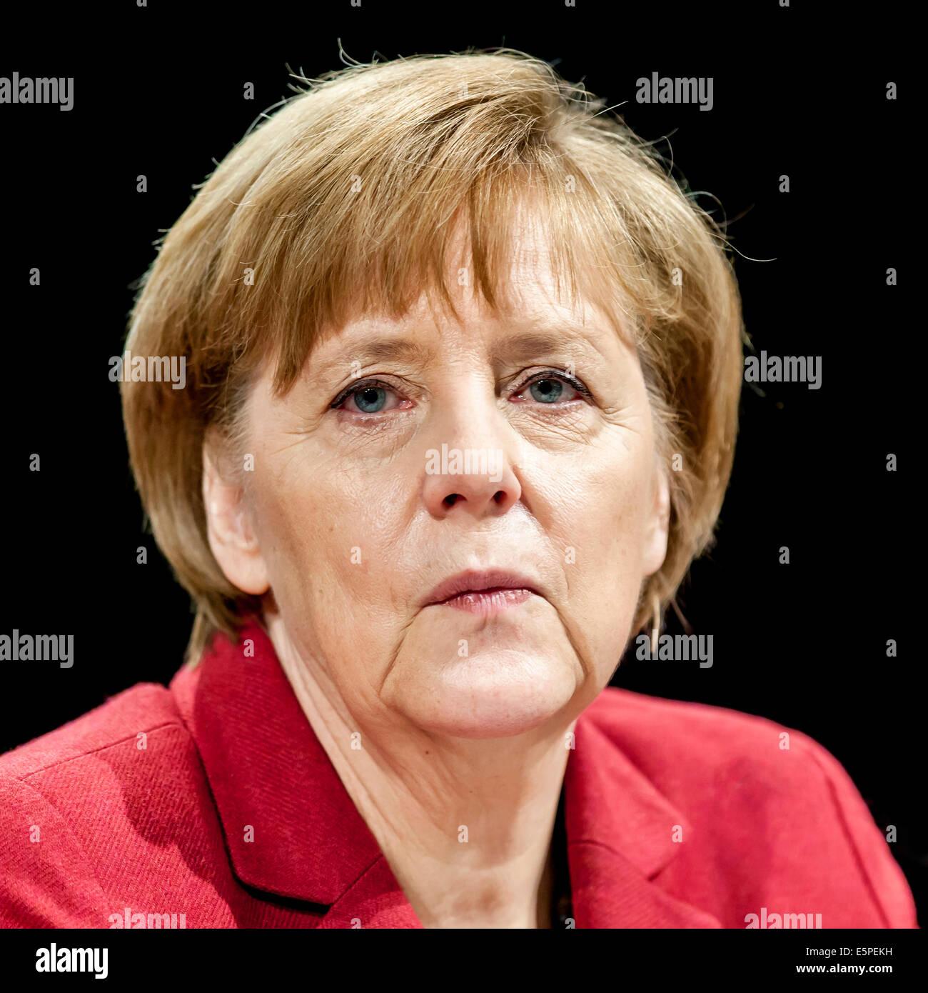 Angela Merkel, Chancellor of Germany, Germany - Stock Image