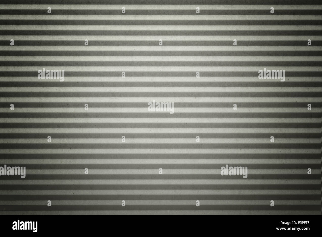 Garage door stripped texture metal grunge background Stock Photo
