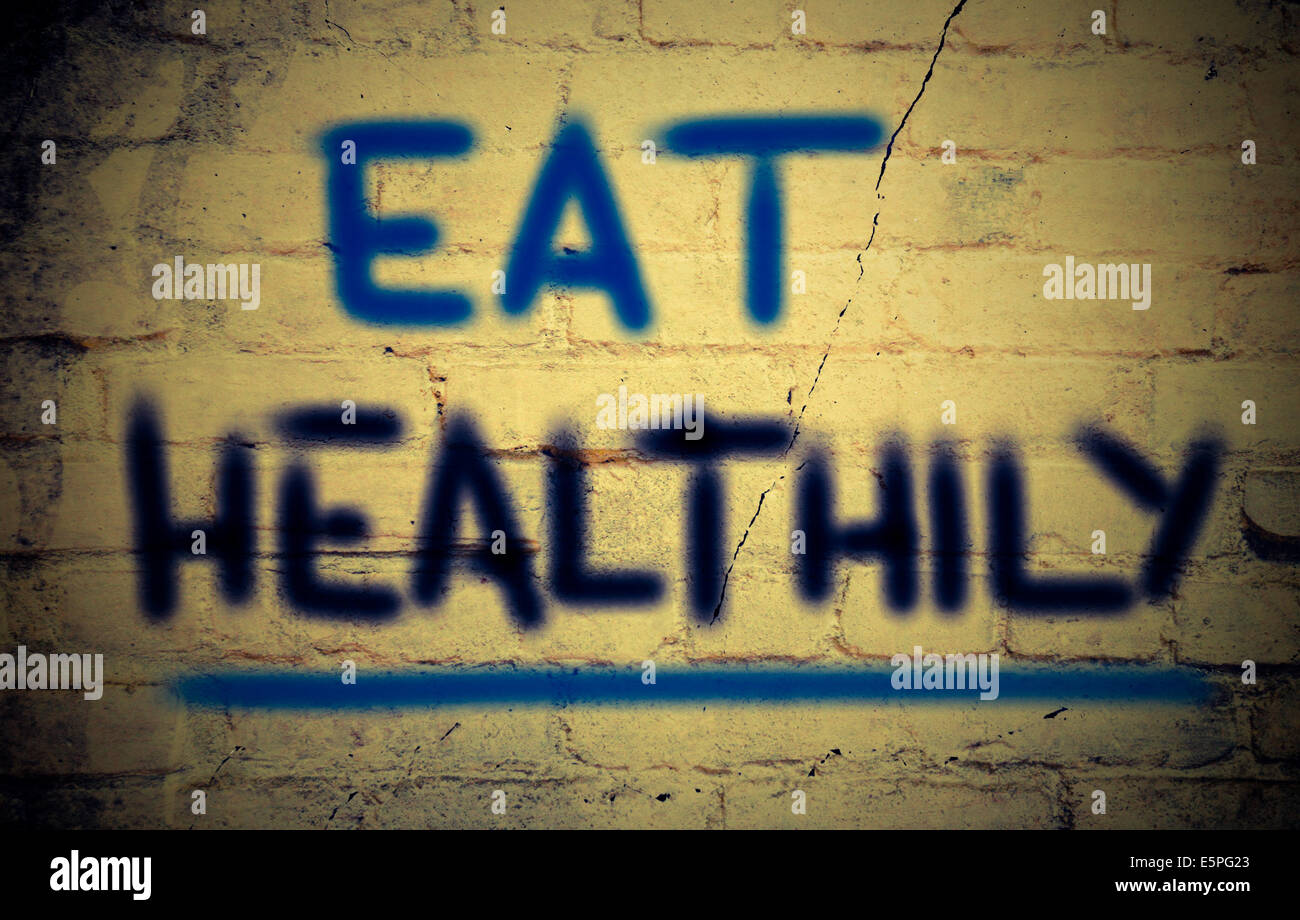 eat healthly concept stock photo 72410299 alamy