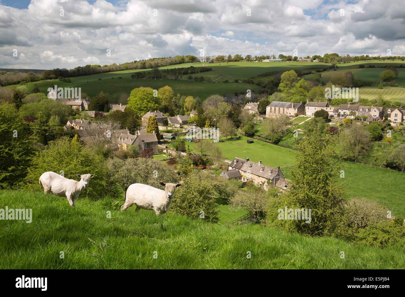 Naunton, Cotswolds, Gloucestershire, England, United Kingdom, Europe - Stock Image