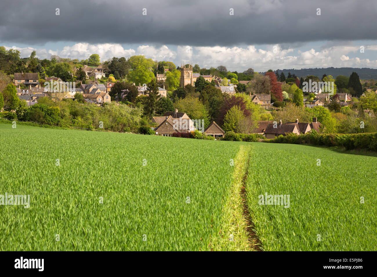 Blockley, Cotswolds, Gloucestershire, England, United Kingdom, Europe - Stock Image