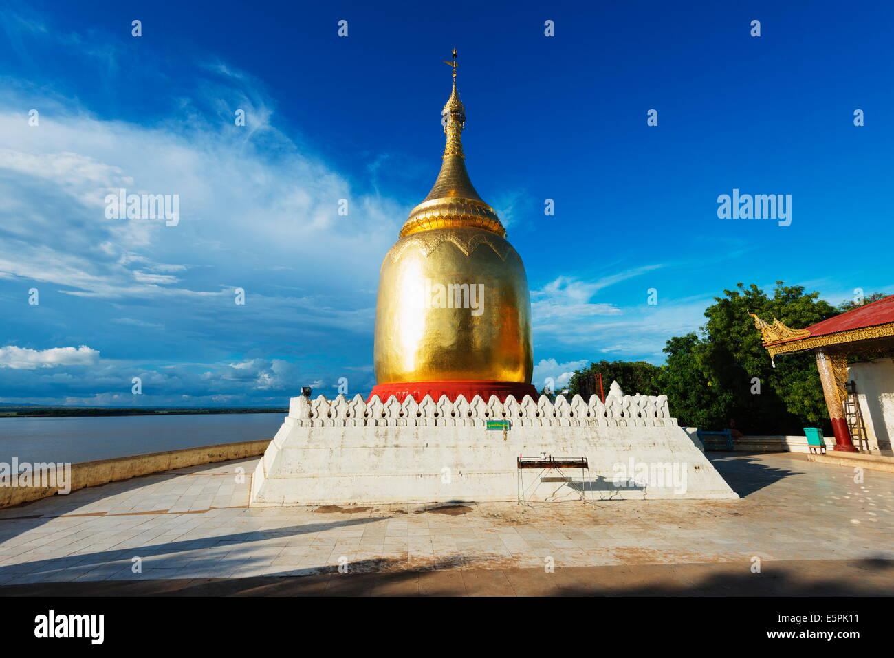 Bupaya Pagoda, Bagan (Pagan), Myanmar (Burma), Asia - Stock Image