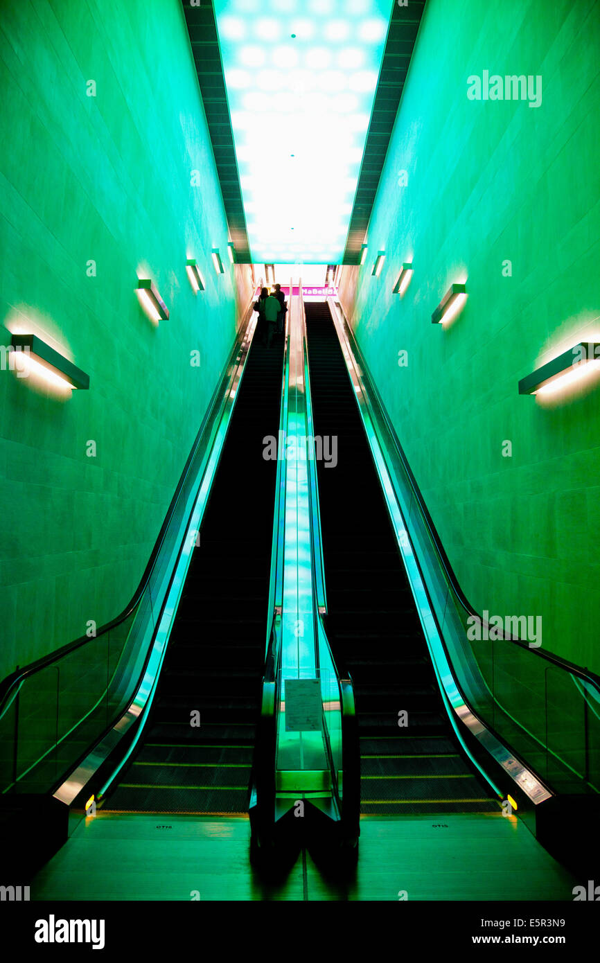 Escalators - Stock Image
