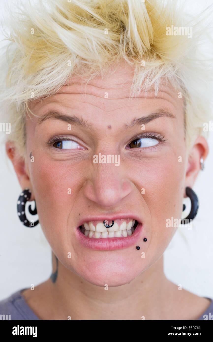 Multiple pierced mature