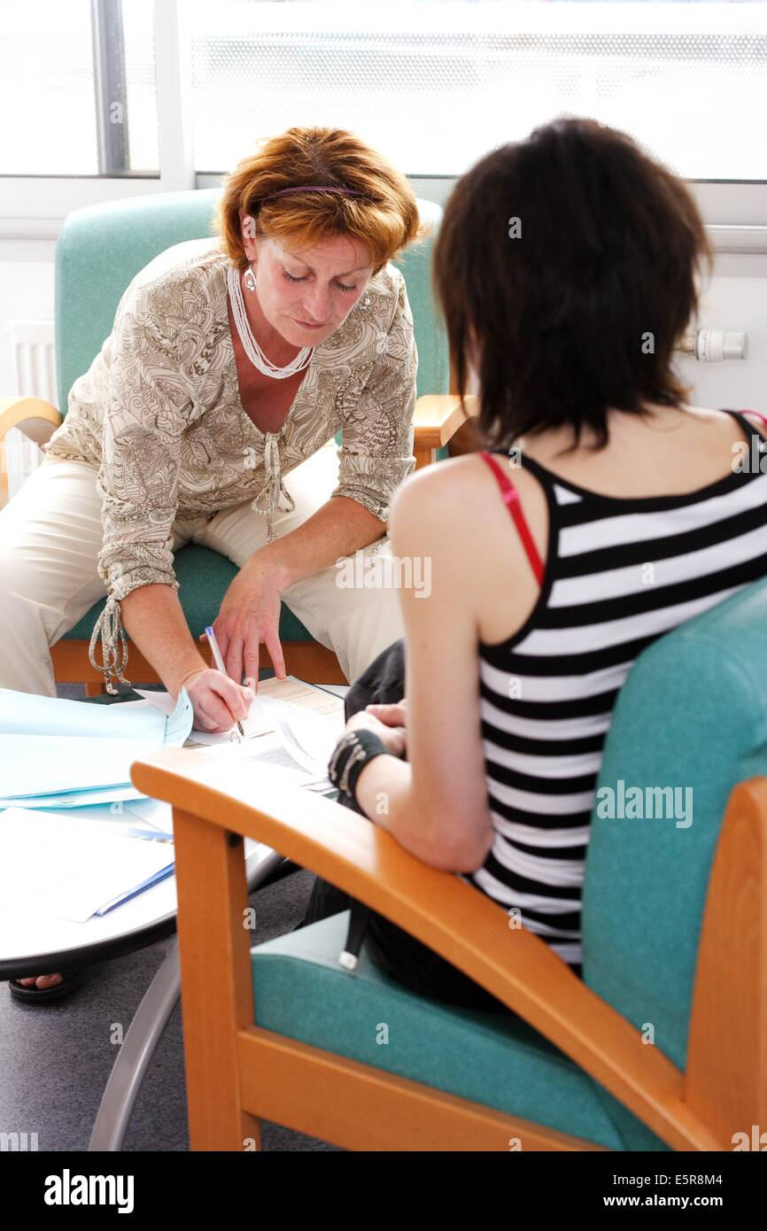 Medico-psychiatric unit for teenagers and young adults
