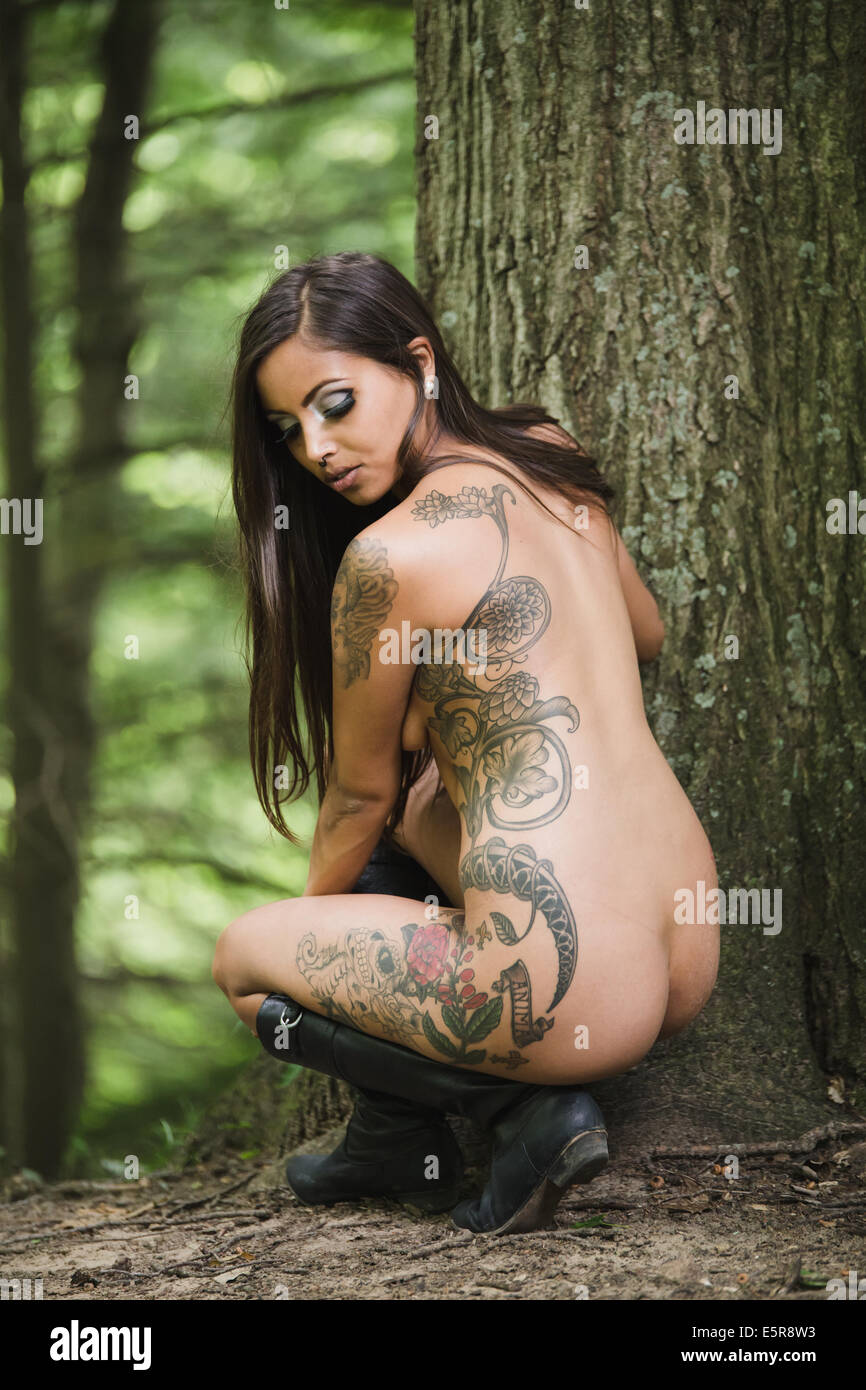 women body tatto nude