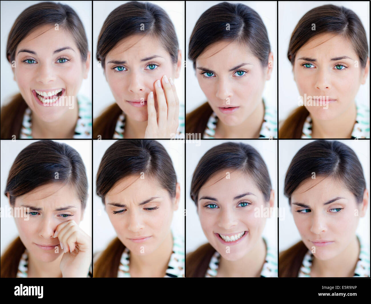 Conceptual image of Personality disorder. - Stock Image