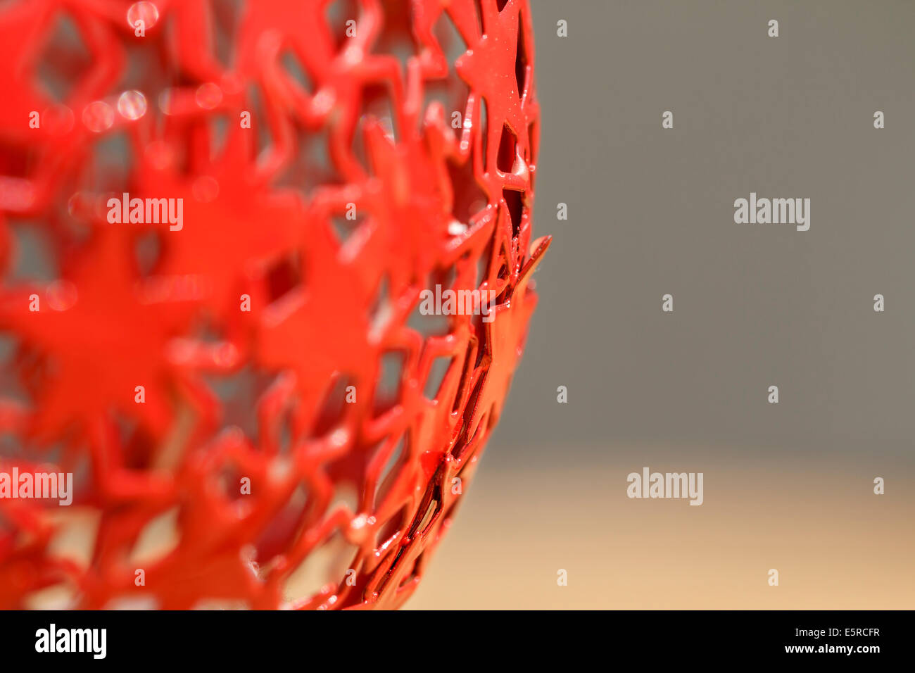 abstract art red color - Stock Image