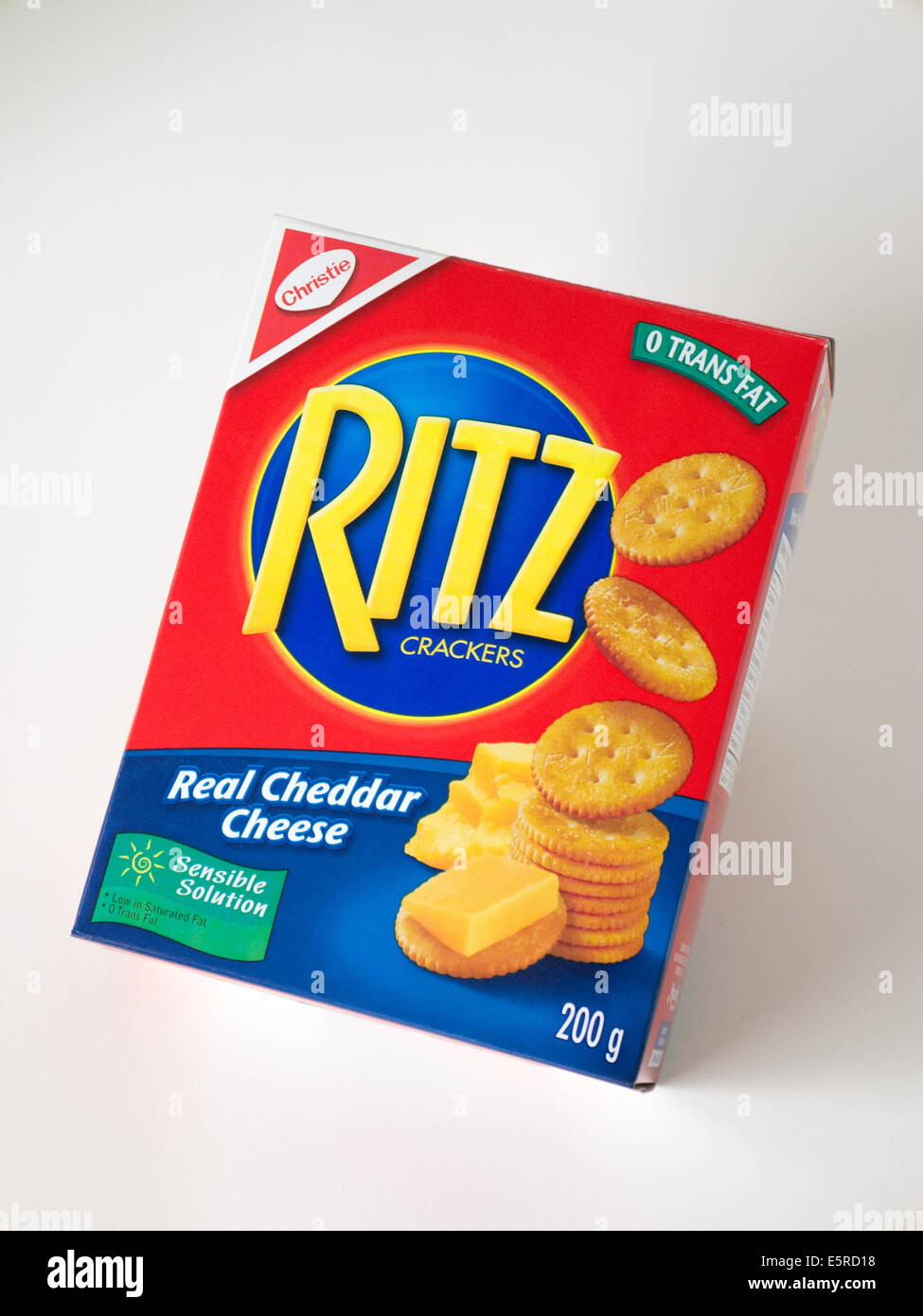 low fat snack ritz crackers - Stock Image