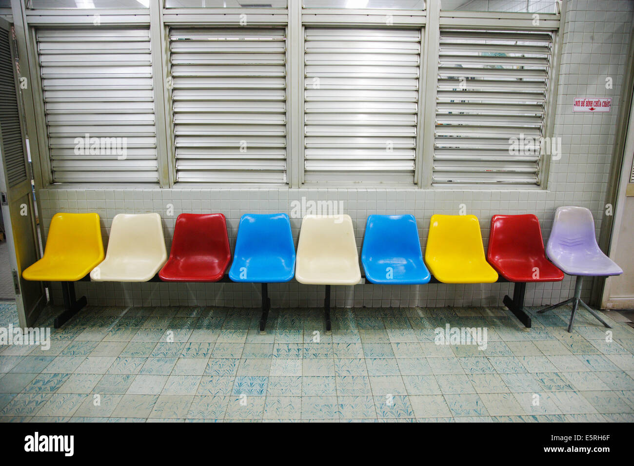 Waiting room - Stock Image