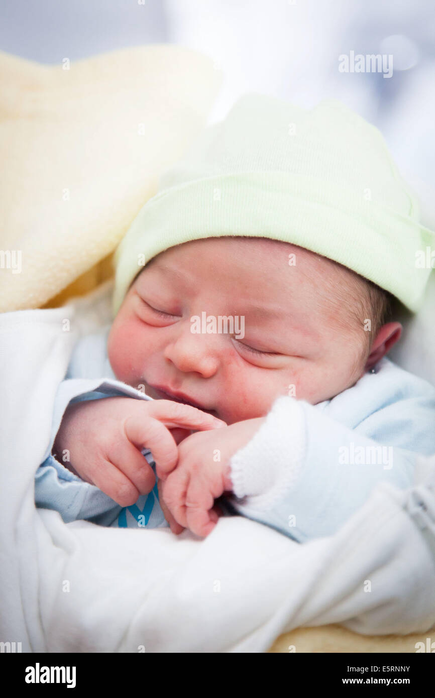 One day old baby boy