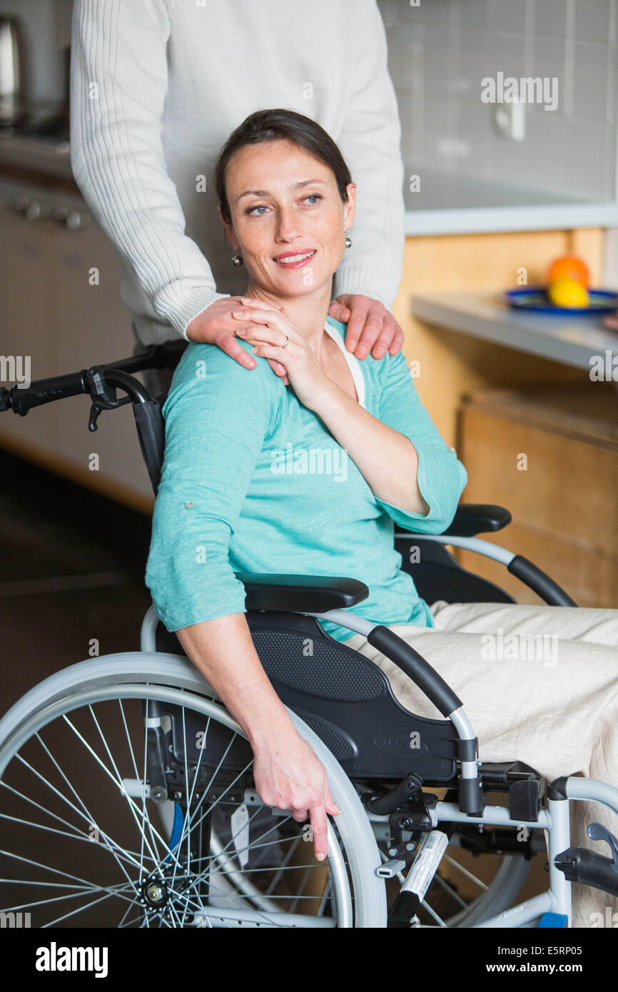Physical handicap. - Stock Image