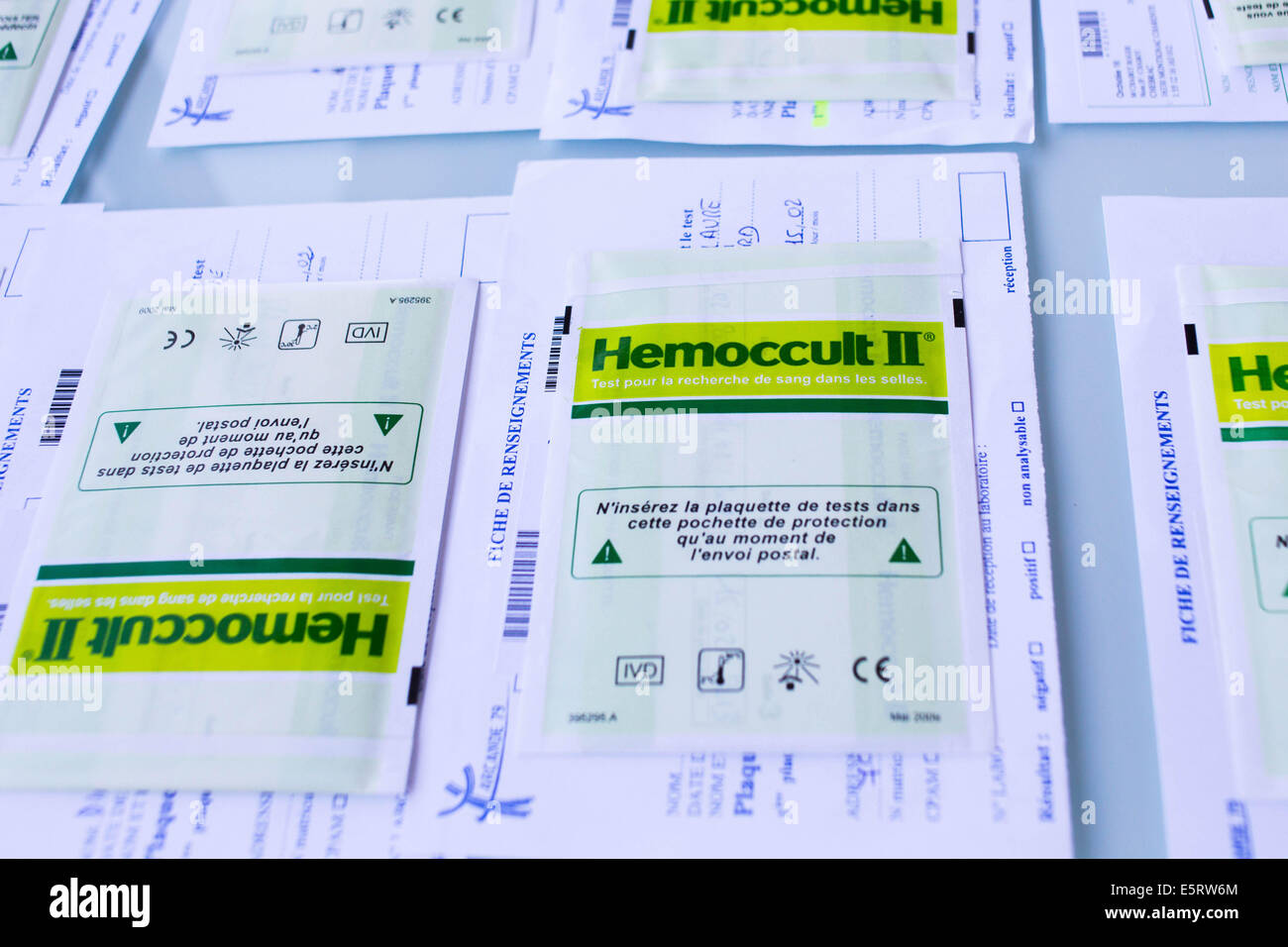 Hemoccult Test Stock Photos Hemoccult Test Stock Images Alamy