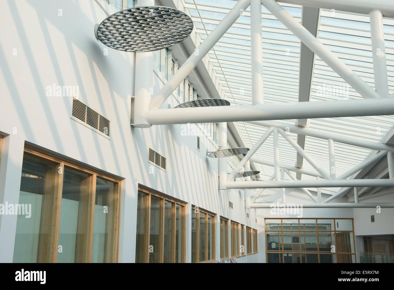 School atrium glass roof stock photo 72440248 alamy for Where to buy atrium windows