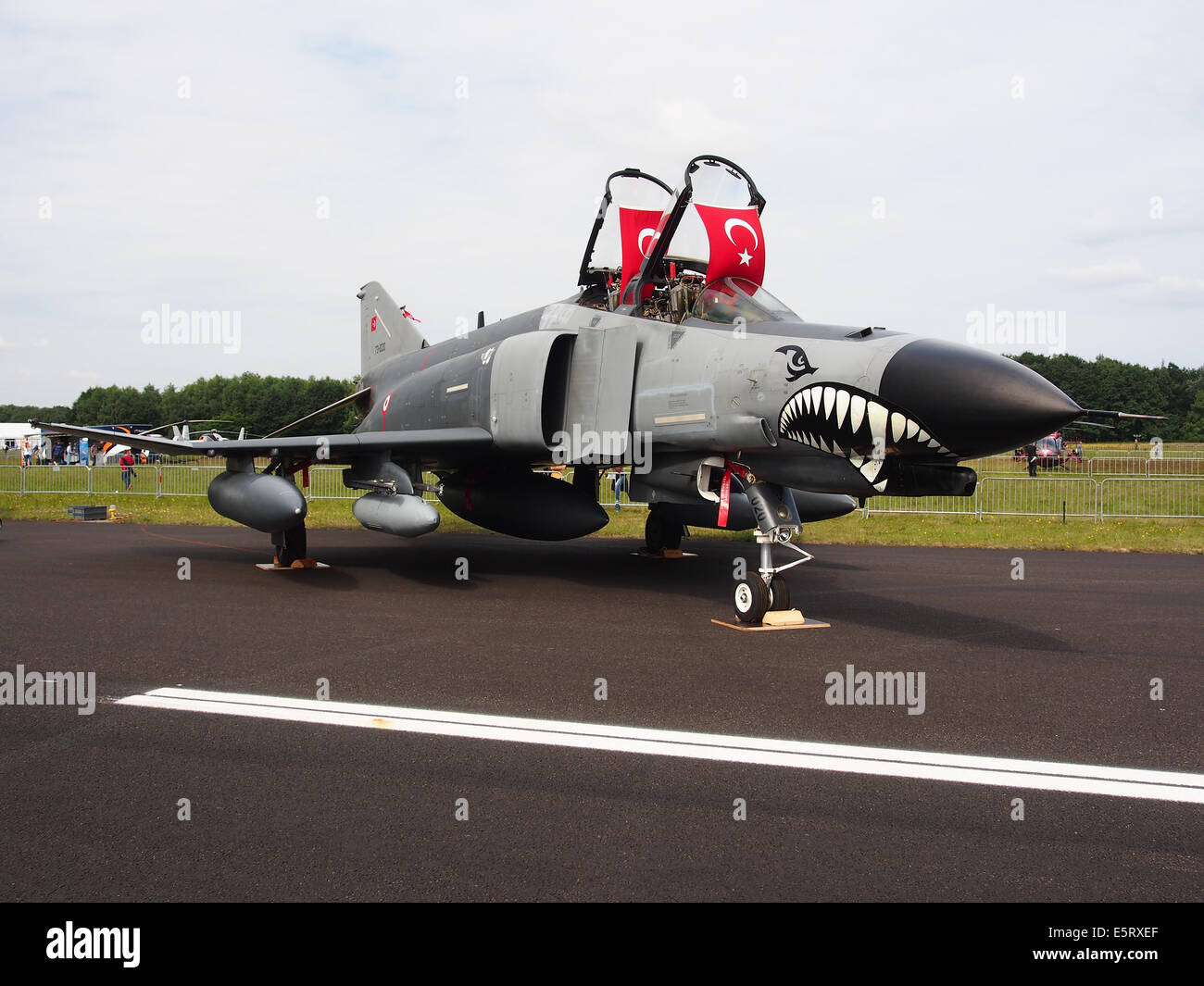 73-1020 (cn 4564) McDonnell Douglas F-4E-2020 Terminator, pic1 Stock Photo