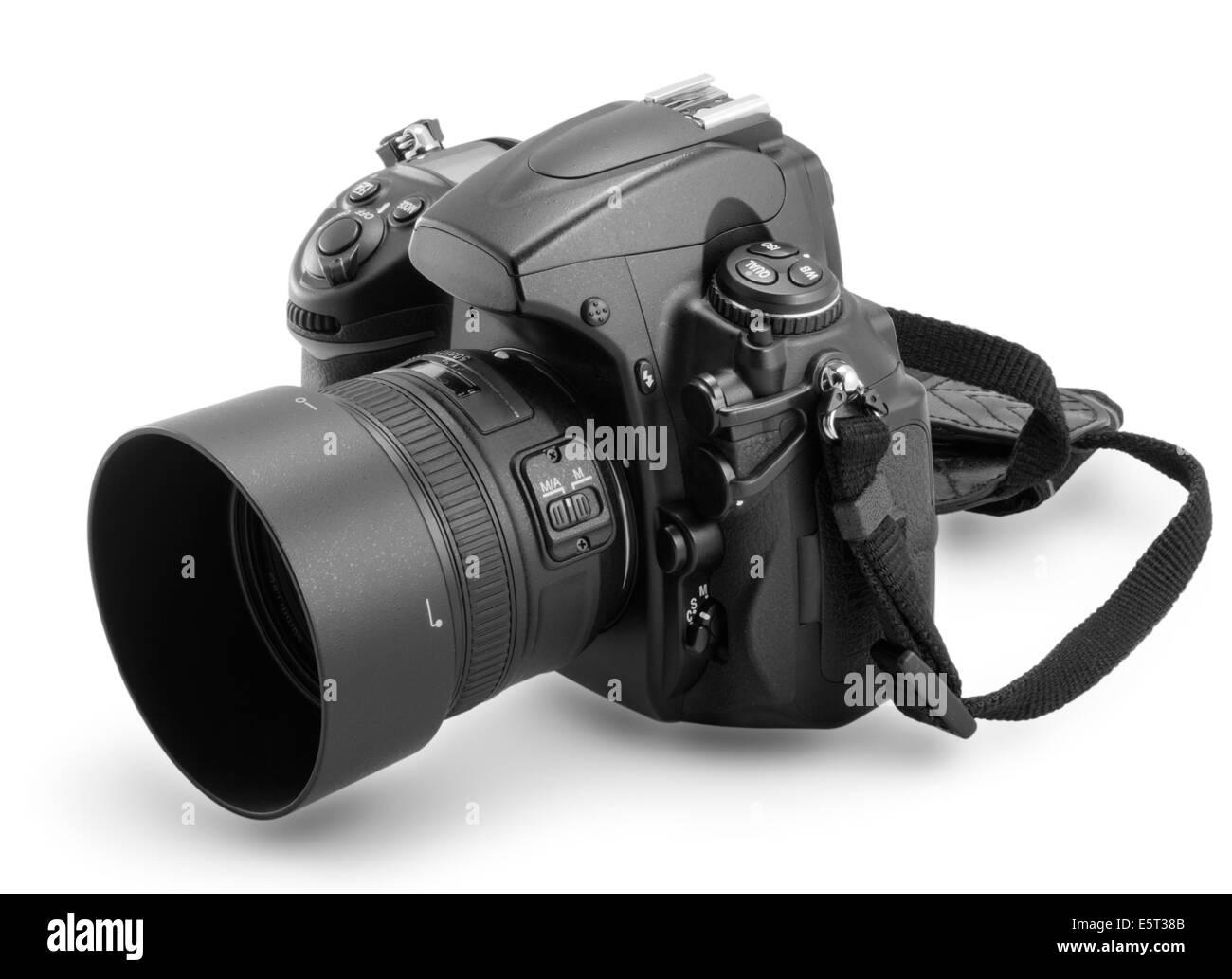 Digital 35mm camera - Stock Image