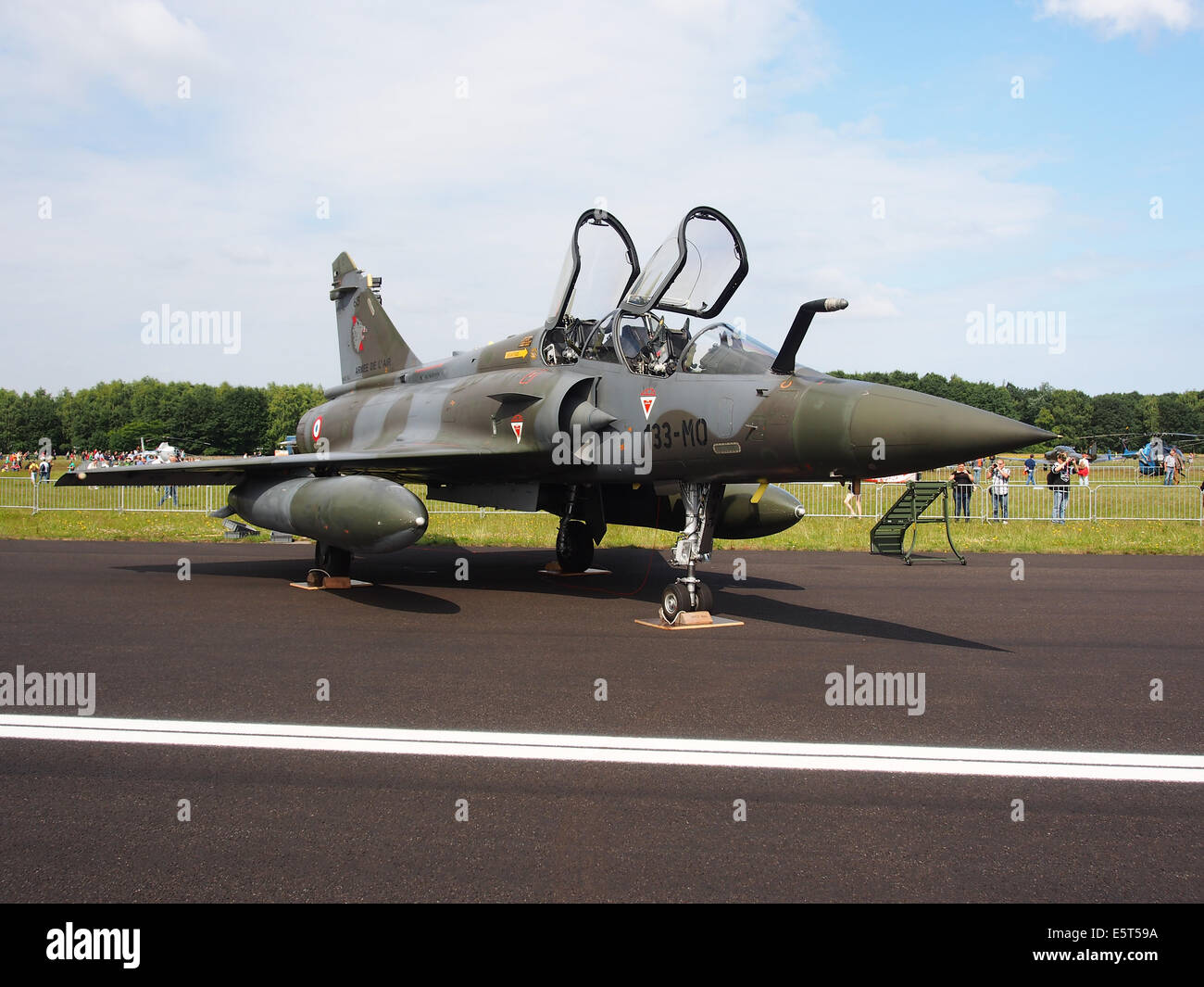 Greece Air Force Dassault Mirage 2000D 613 133-MO (cn 410), pic1 - Stock Image