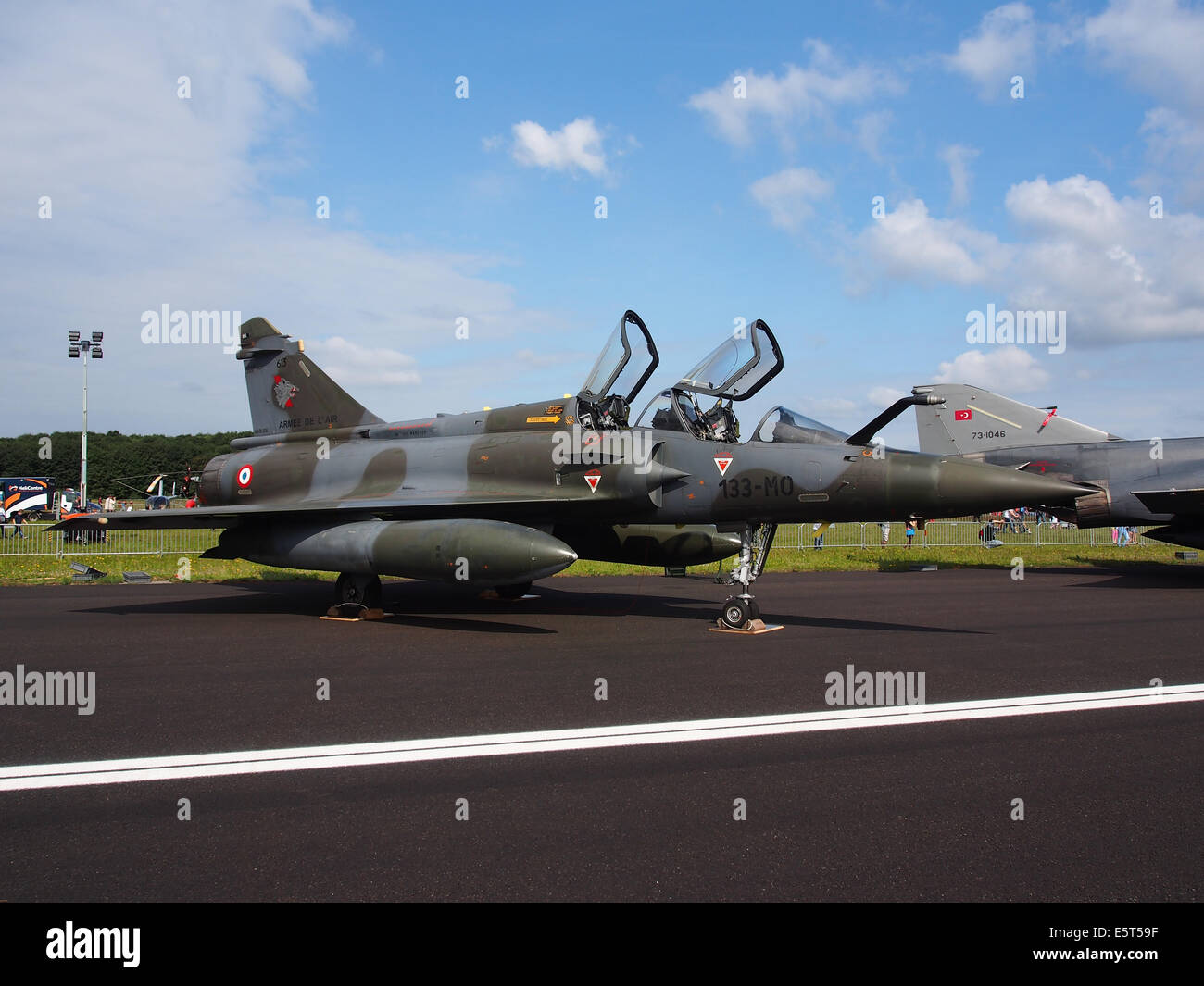 Greece Air Force Dassault Mirage 2000D 613 133-MO (cn 410), pic2 - Stock Image