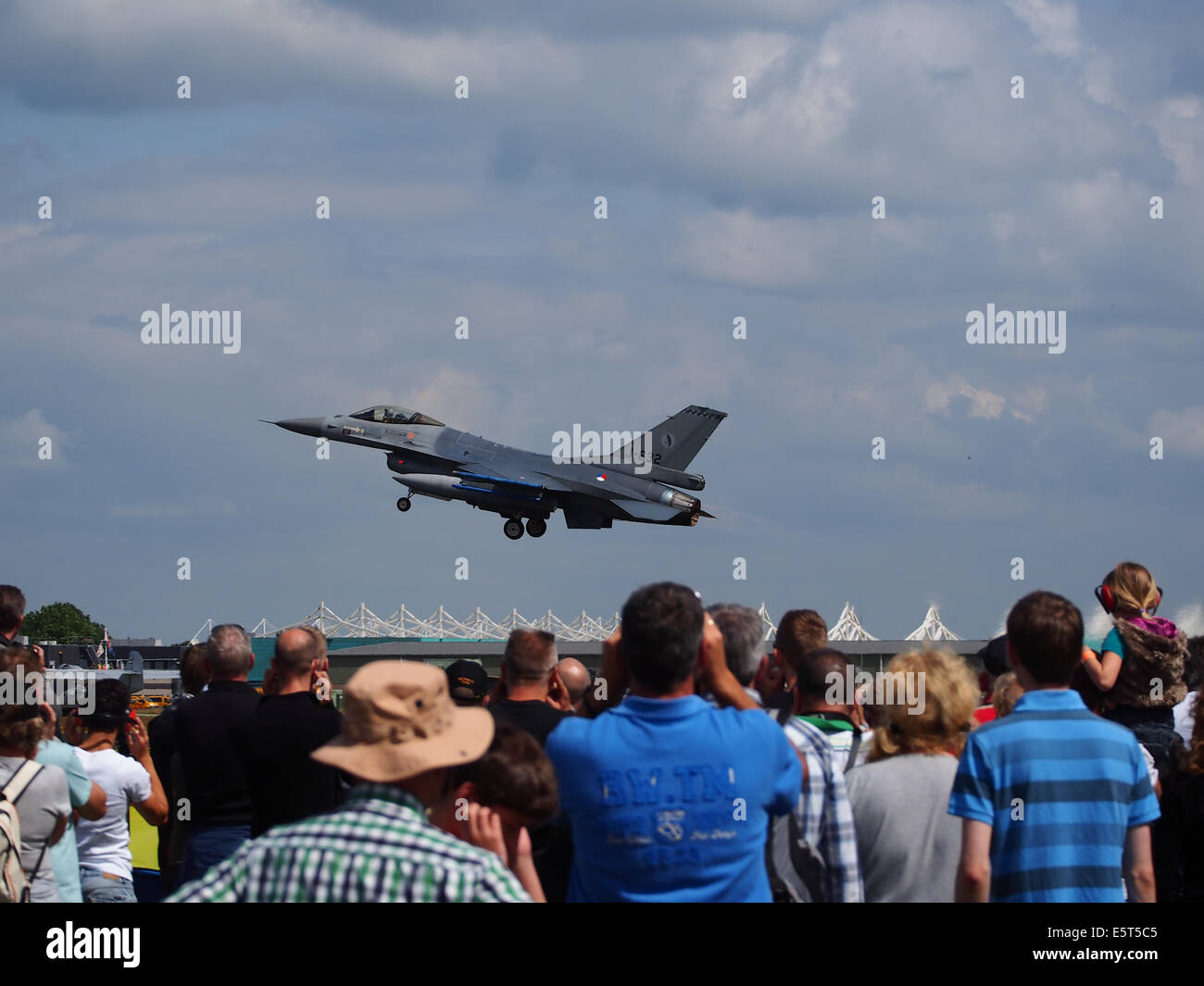 J-632 F-16AM Fighting Falcon of the Royal Netherlands Air Force, pic1 Stock Photo