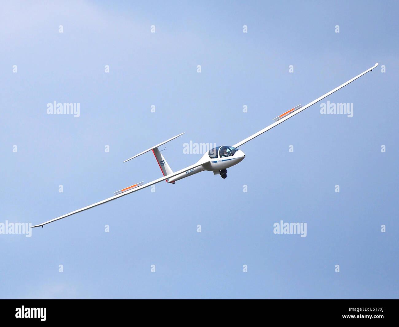 PH-1431 DG Flugzeugbau DG-1000S at Hilversum Airport (ICAO EHHV), photo2 - Stock Image
