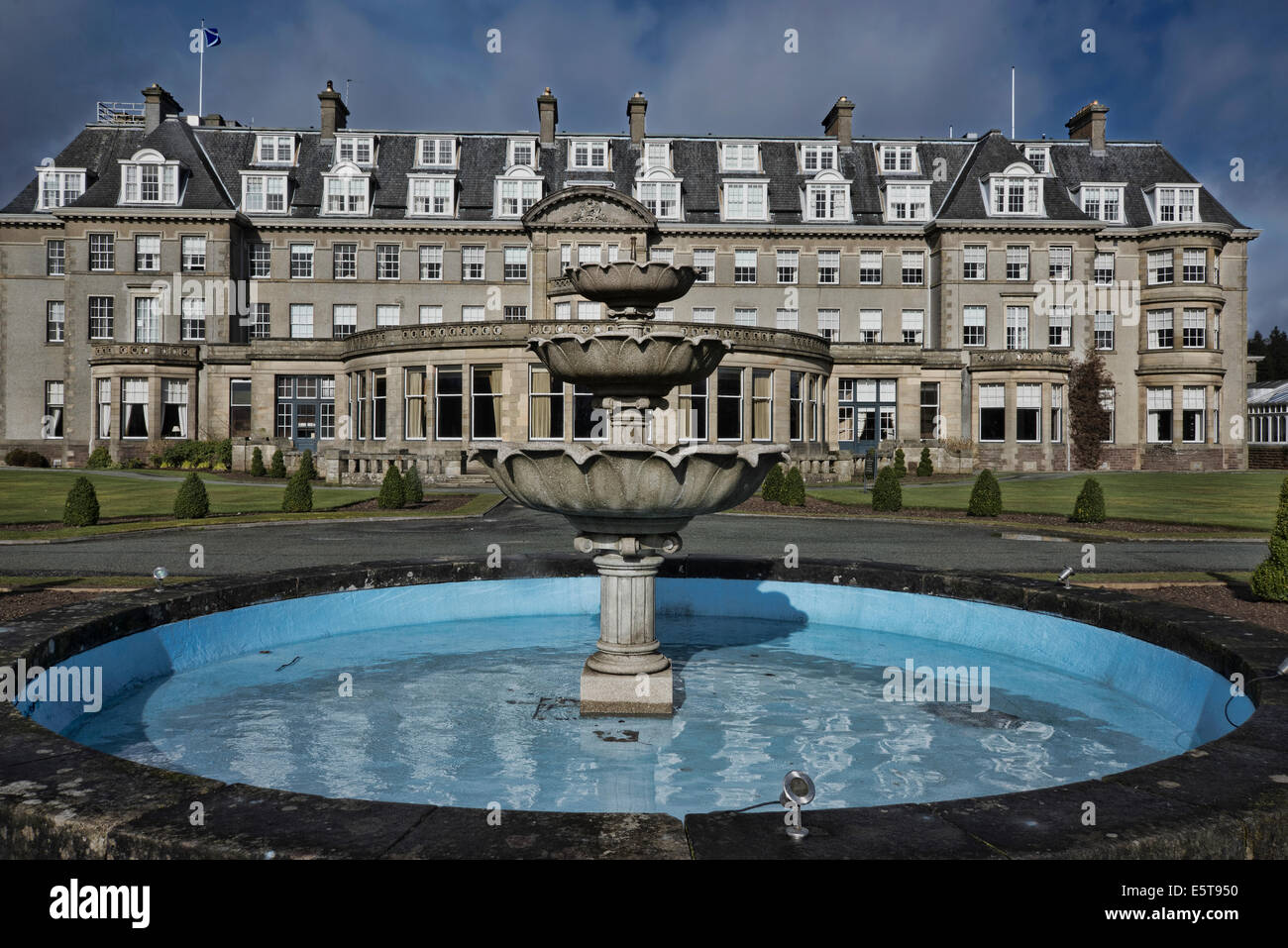 Gleneagles 5 Star Hotel Perthshire Scotland Stock Photo 72448796