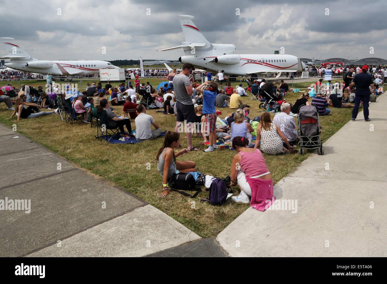 Farnborough International Air show 2014, UK  Photo : pixstory - Stock Image