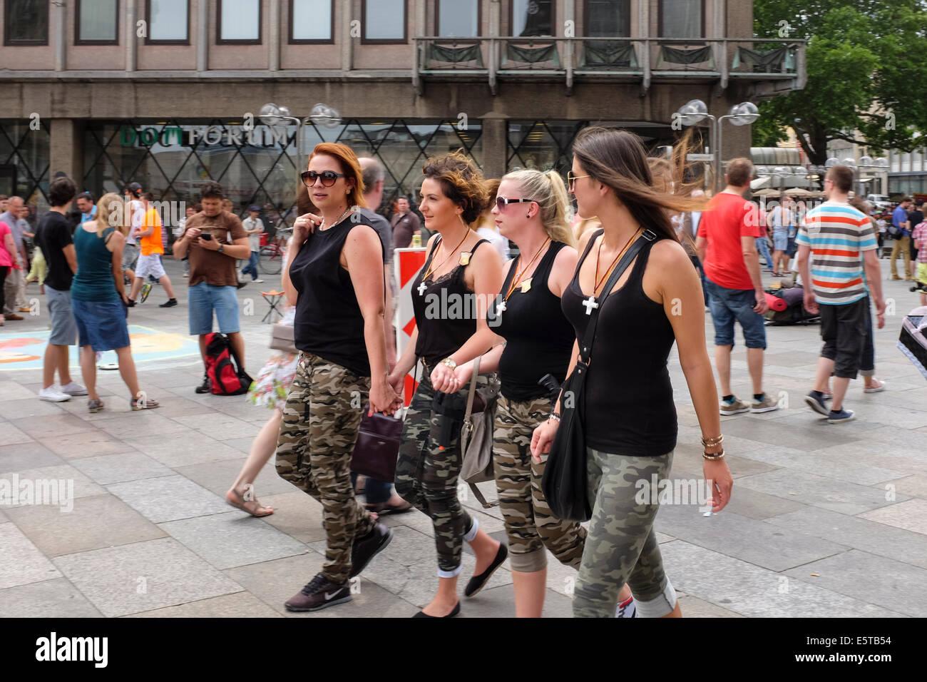 Girls germany The German