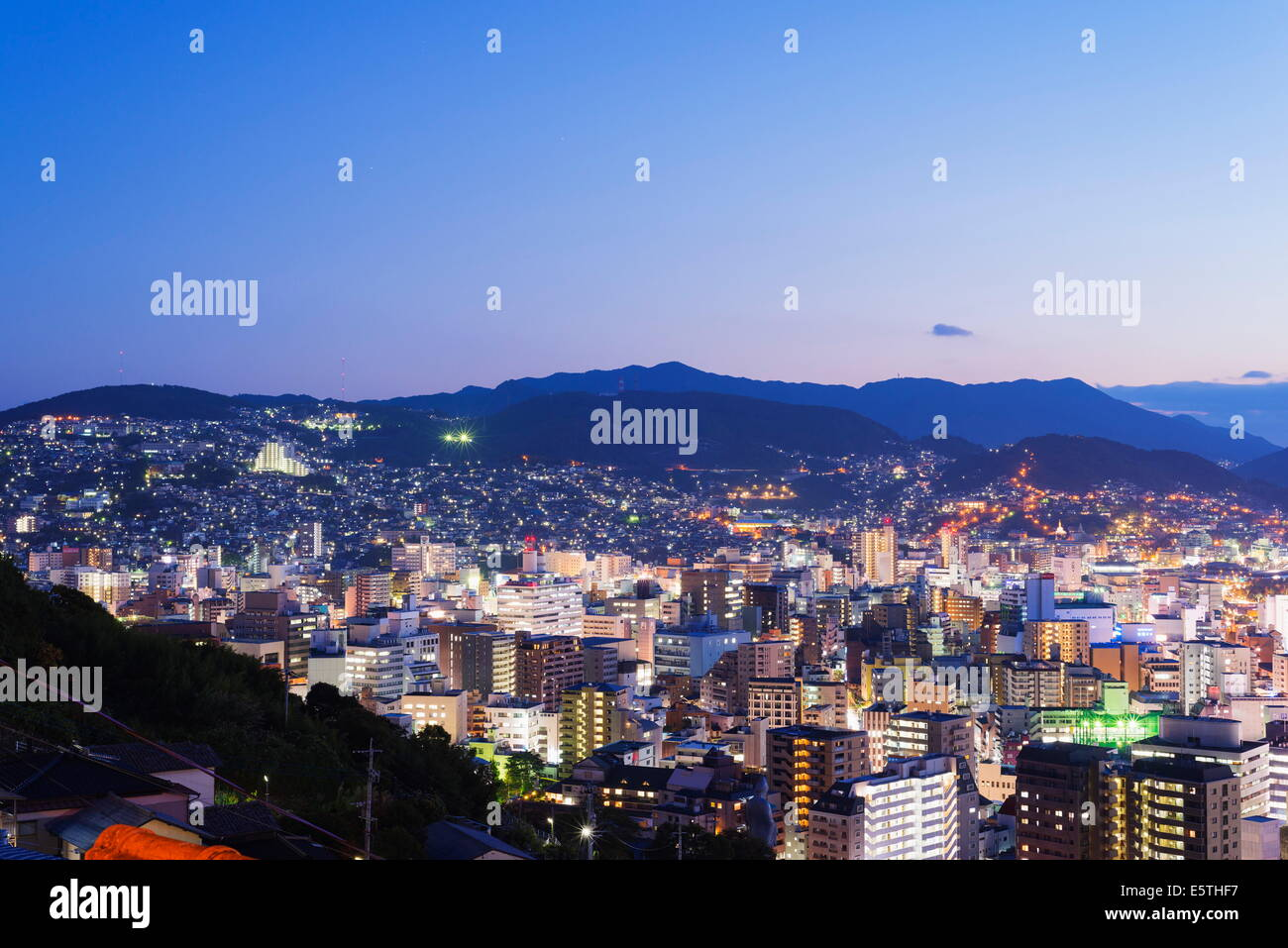 Nagasaki, Kyushu, Japan, Asia - Stock Image