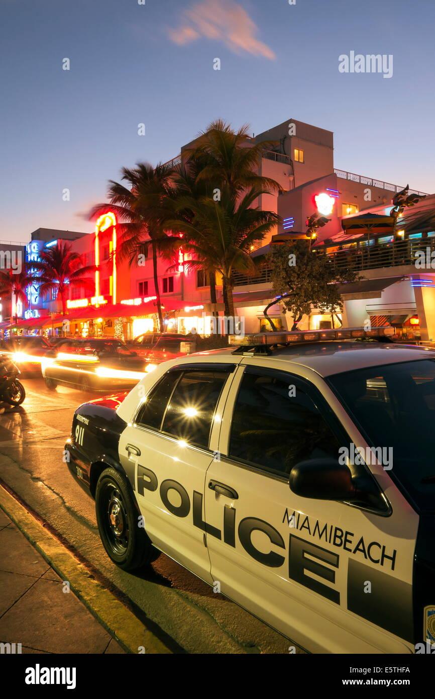 Miami Florida City Miami Police Stock Photos & Miami Florida City ...