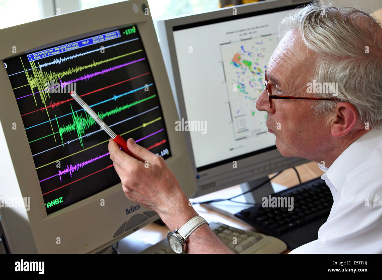 Seismologist High Resolution Stock Photography and Images - Alamy