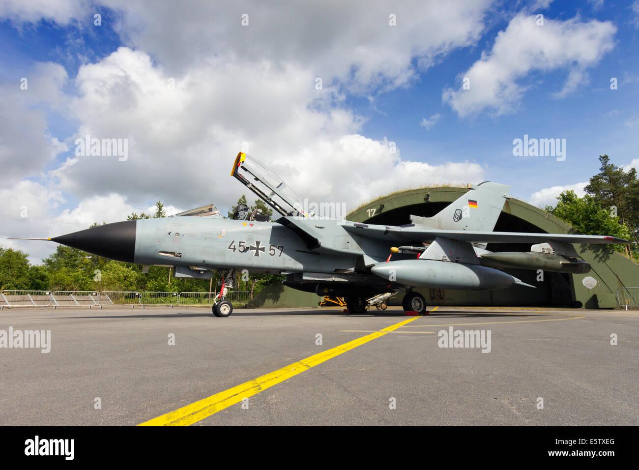 German Air Force Tornado fighter jet - Stock Image
