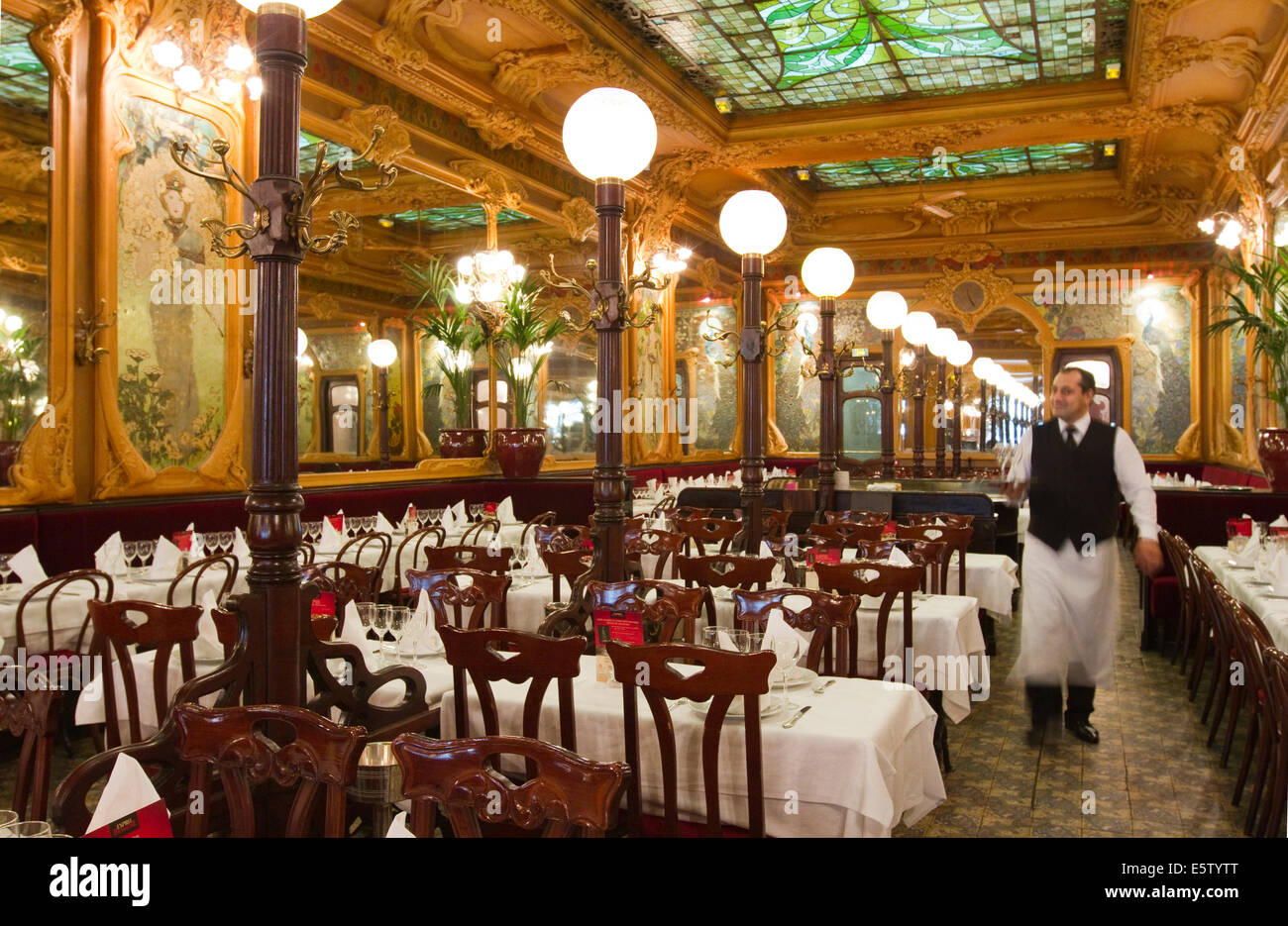 Restaurant Art Nouveau High Resolution Stock Photography And Images Alamy