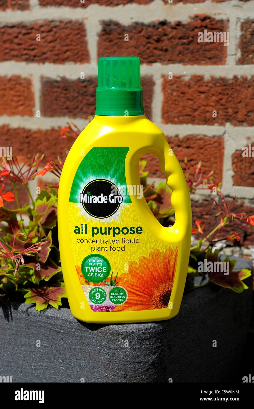 Miracle grow all purpose concentrated liquid plant food