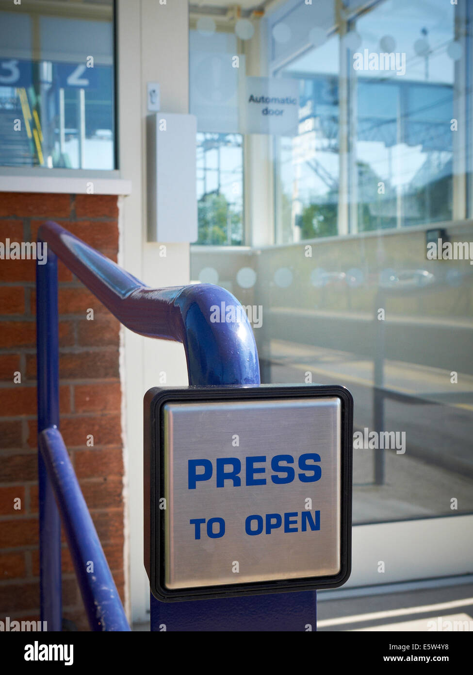 Press To Open Button For Opening Automatic Door Stock