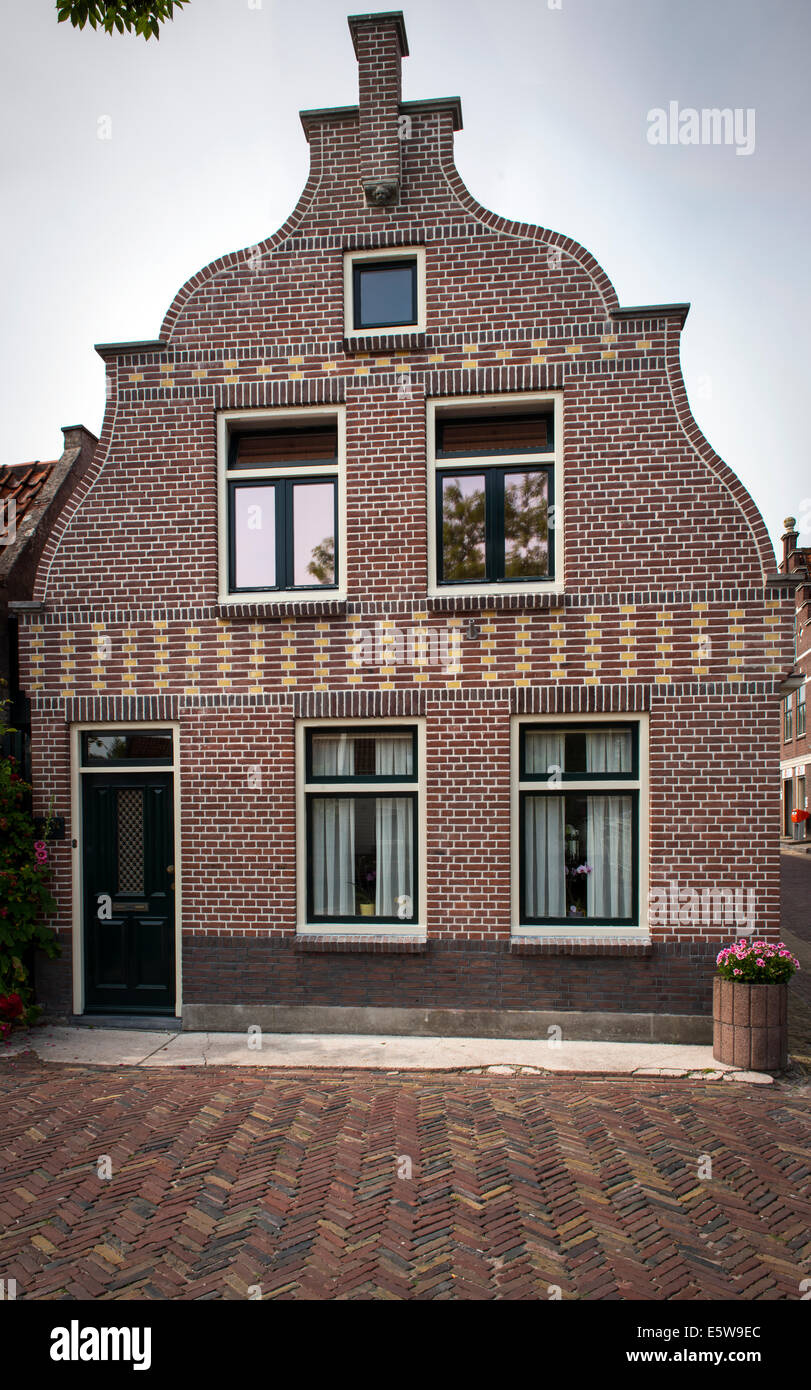 House in Edam, Holland, Netherlands - Stock Image