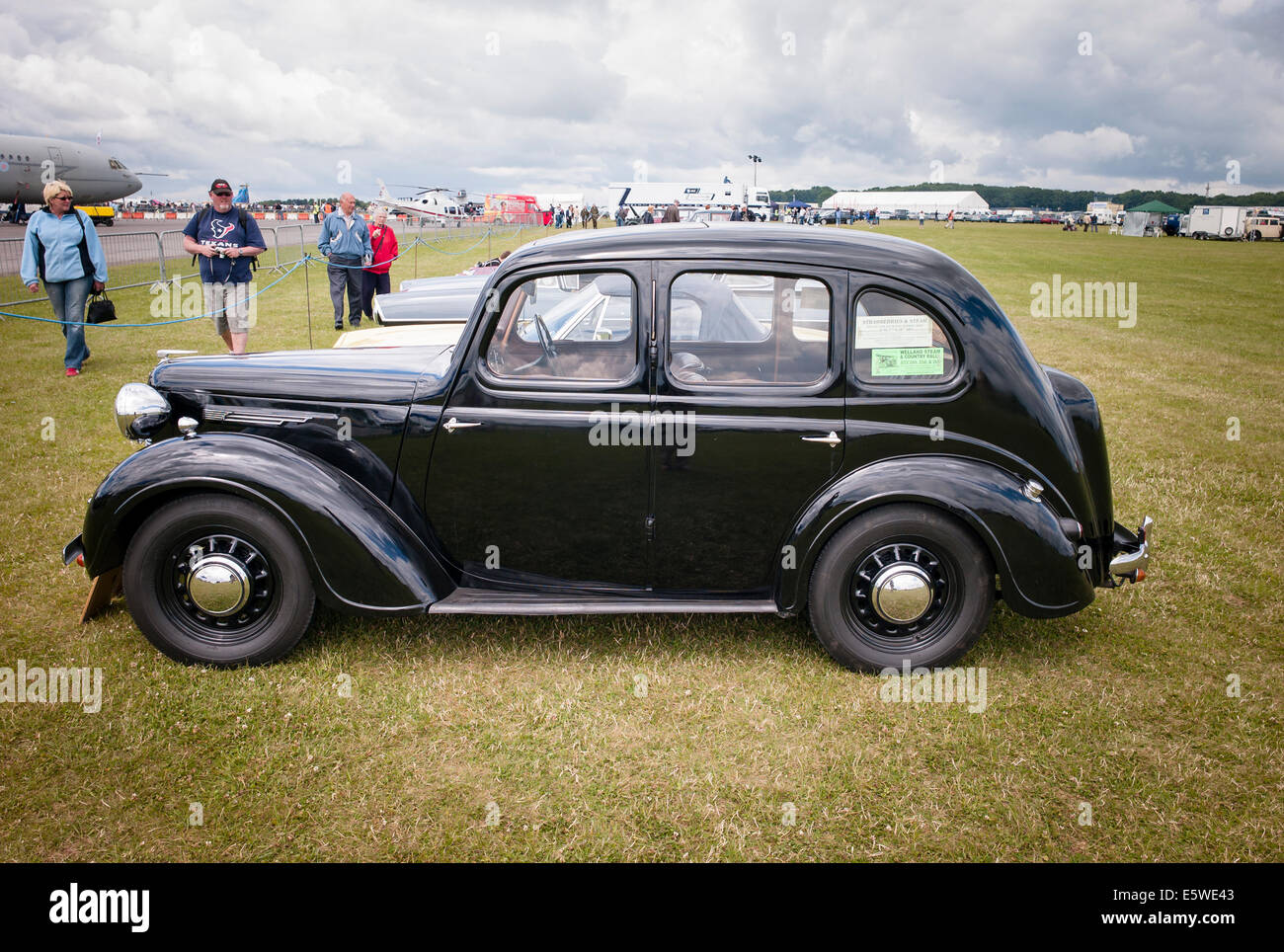 1940s Austin 10 Car An Outdoor Event In Ukkemble Gloucestershire