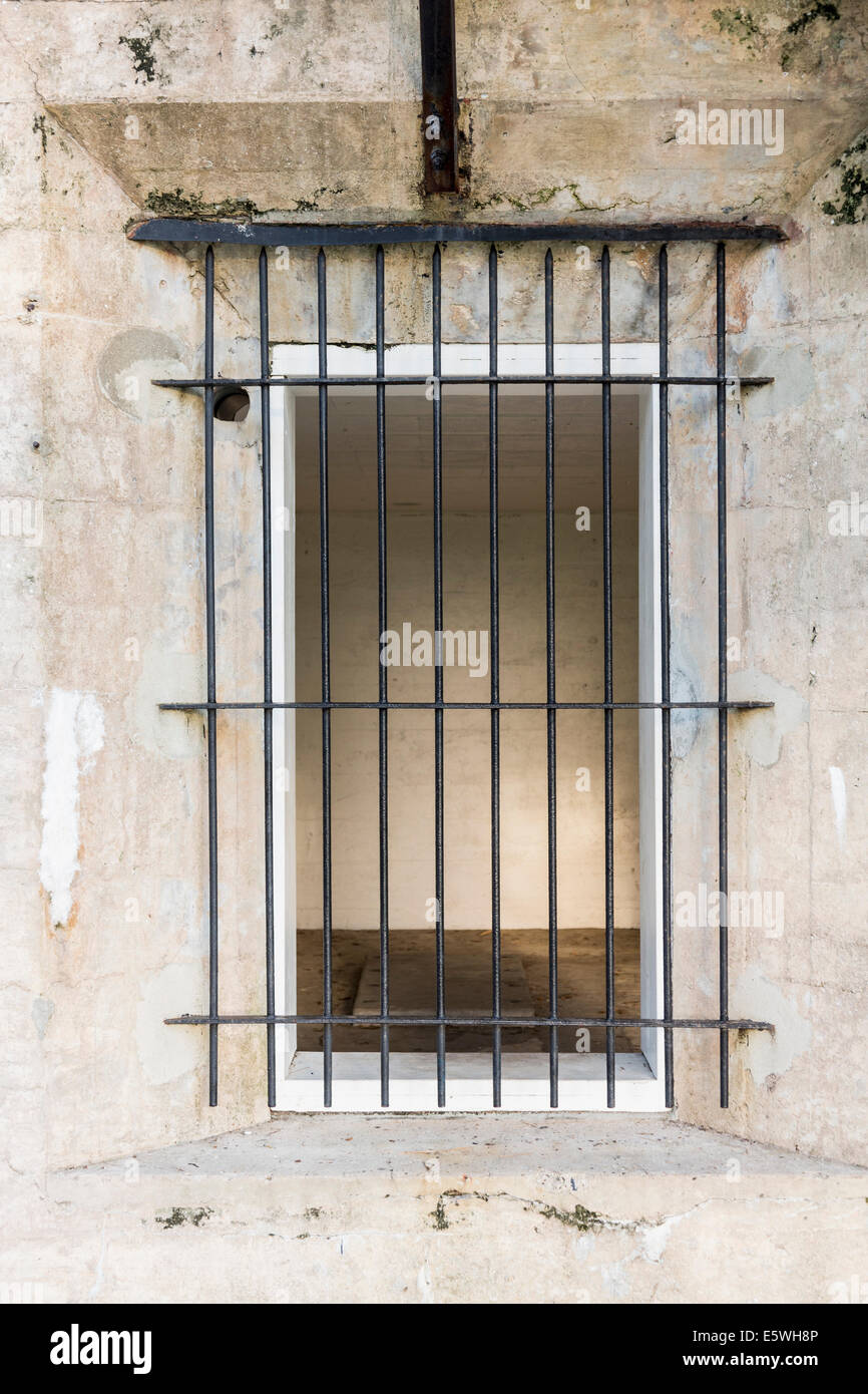 Old prison cell - Stock Image