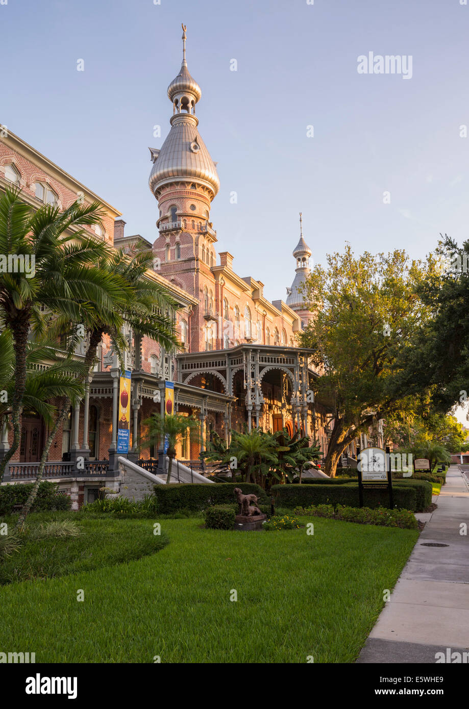 Henry B Plant museum, University of Tampa, Tampa, Florida, USA - Stock Image
