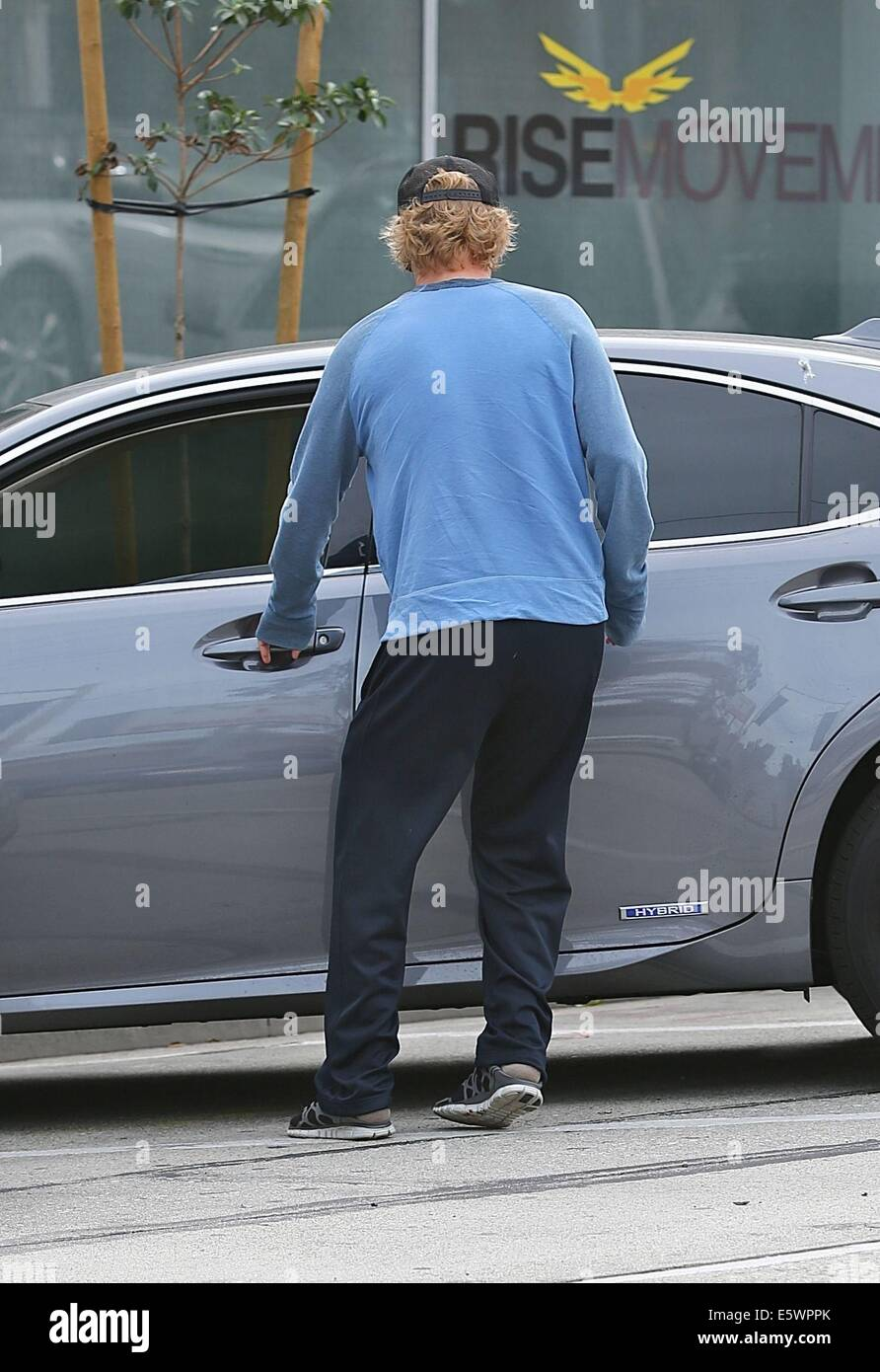 Photo of Owen Wilson - car