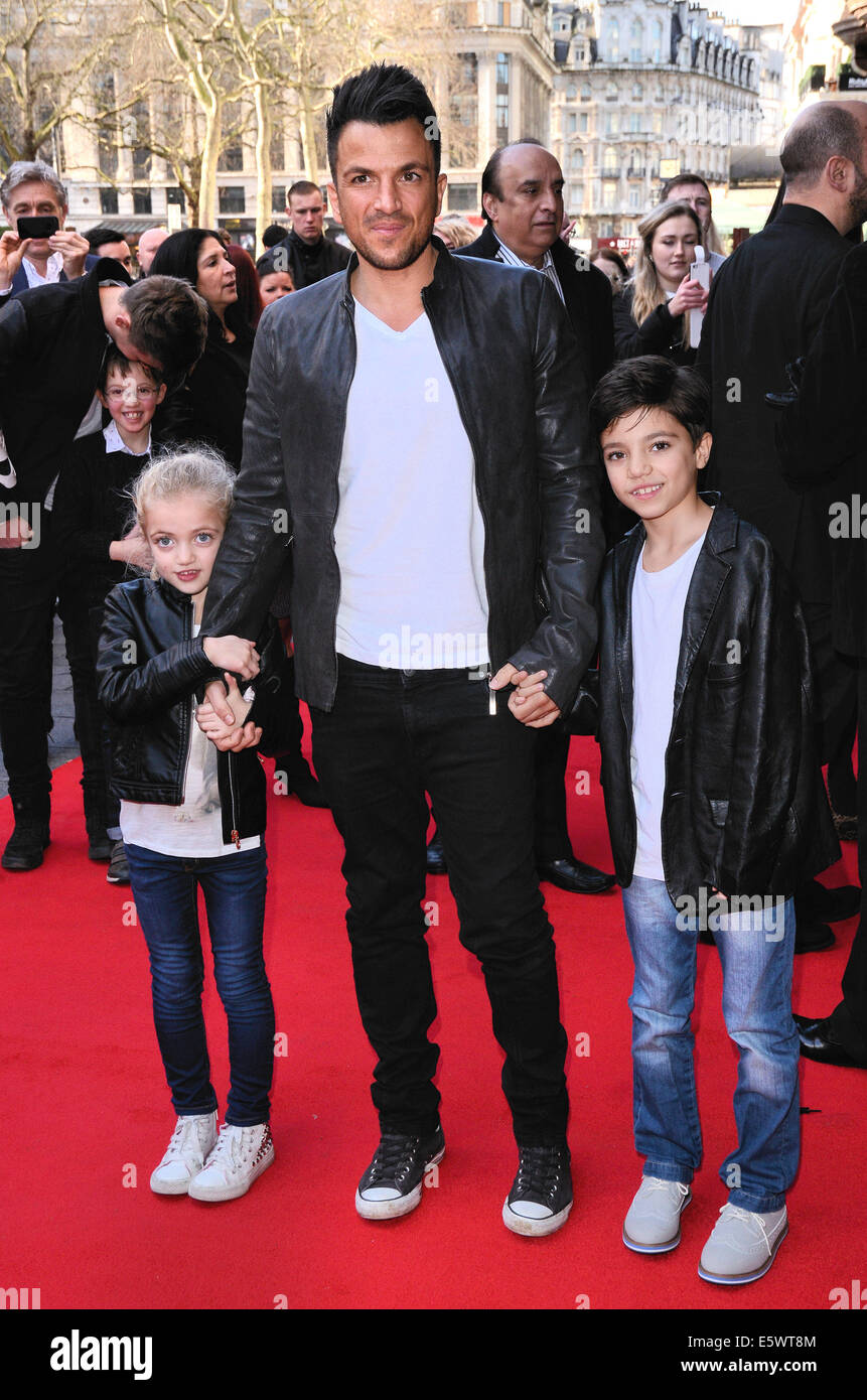 Mr peabody and sherman vip gala screening at the vue cinema mr peabody and sherman vip gala screening at the vue cinema leicester square london featuring peter andredaughter princess tiaamii andre and son junior m4hsunfo