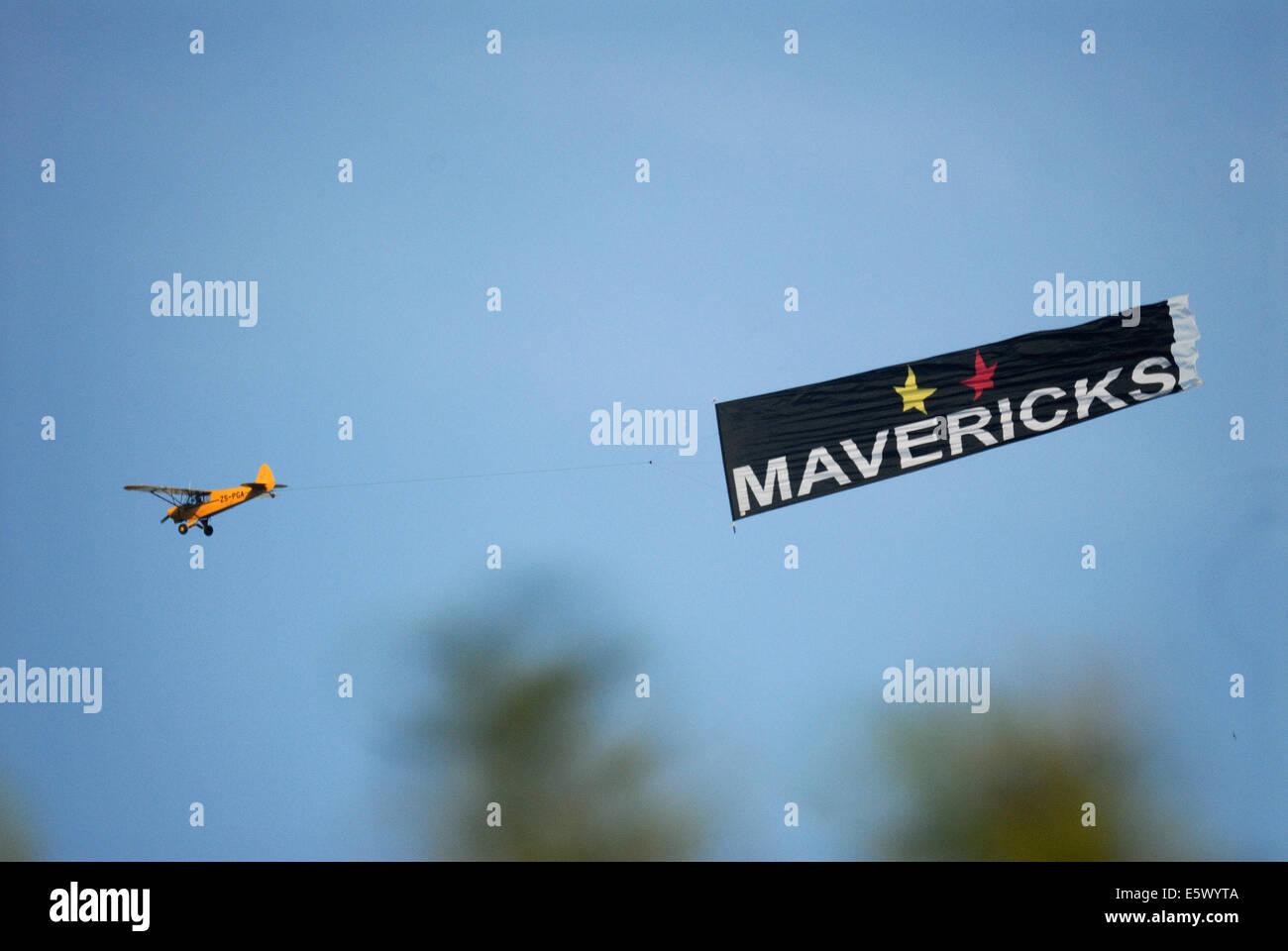Aerial Advertising - Stock Image