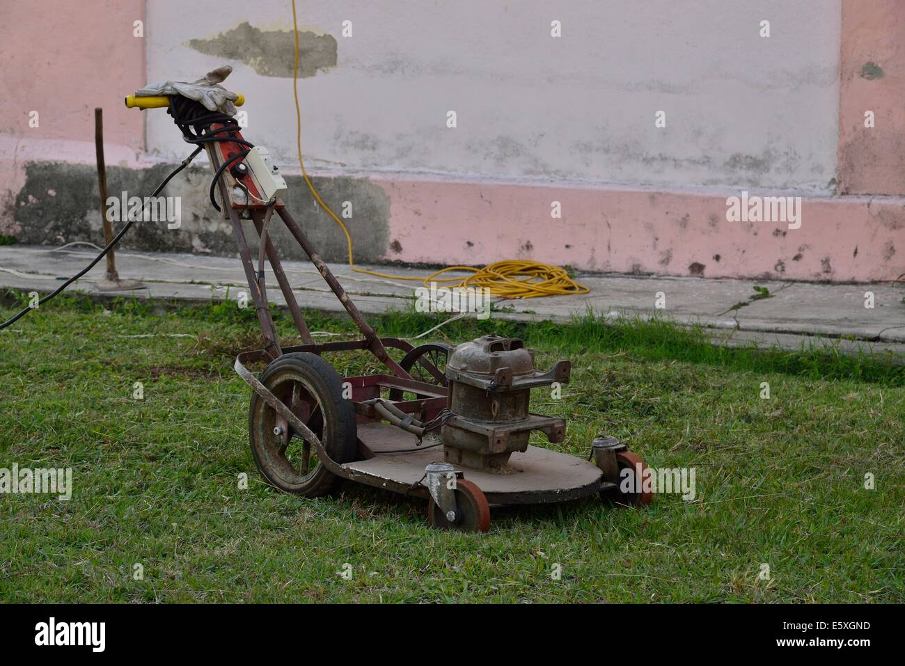State of the Arc electric mower - Stock Image