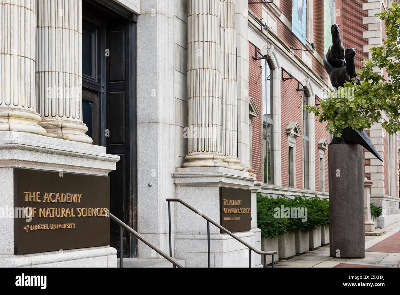 The Academy of Natural Sciences of Drexel University, Philadelphia, Pennsylvania, USA - Stock Image