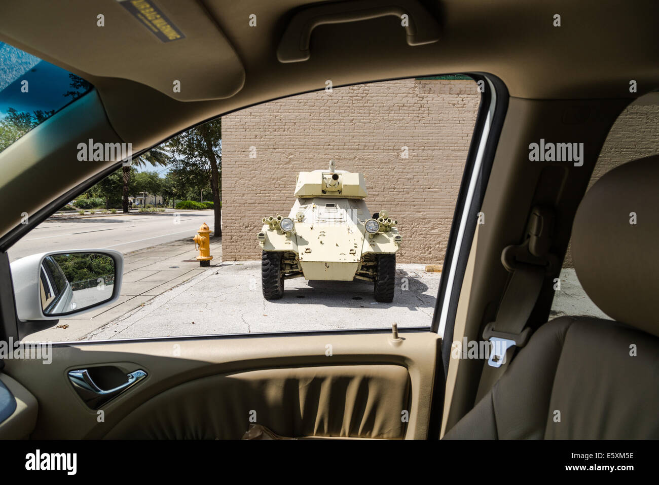 Armored Vehicle - Stock Image