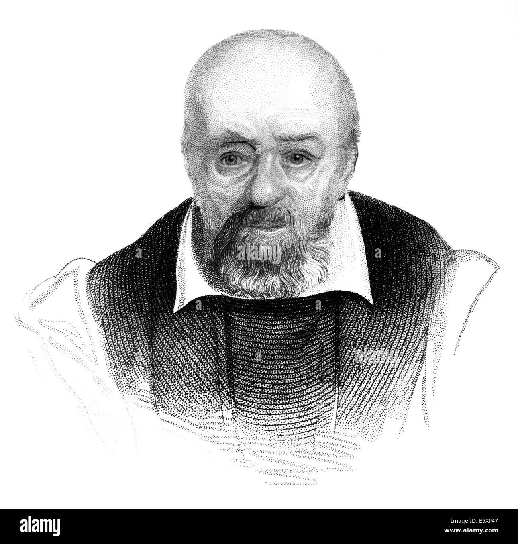 George Buchanan,  1506-1582, a Scottish historian and humanist scholar, - Stock Image